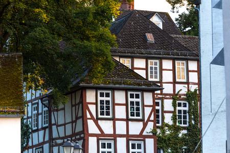 역사적인 습지 독일 스톡 콘텐츠