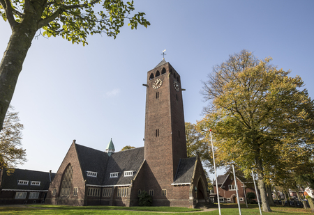enschede city in the netherlands church