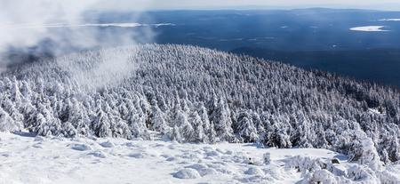 brocken mountain germany winter landscape Standard-Bild - 96805534