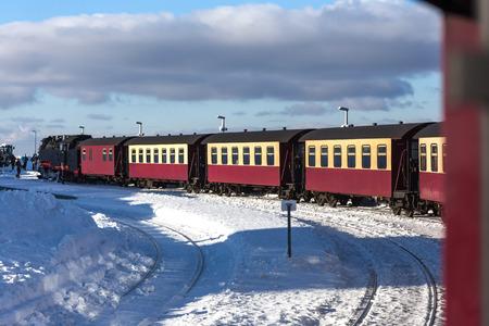 steam train harz germany Standard-Bild - 96997984