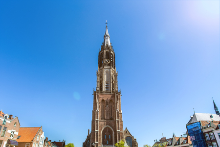 delft historic city in the netherlands