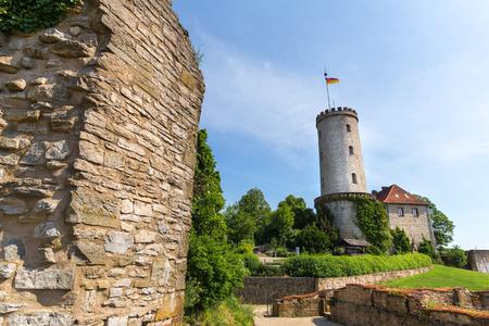 sparrenburg castle bielefeld germany in the summer