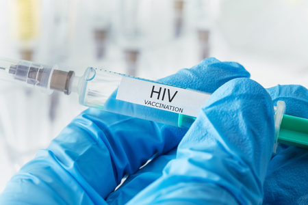 hiv vaccination Stock Photo