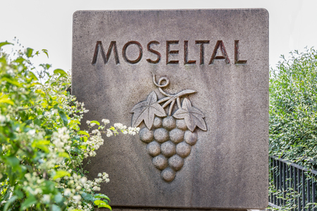 Mosel Valley sign germany