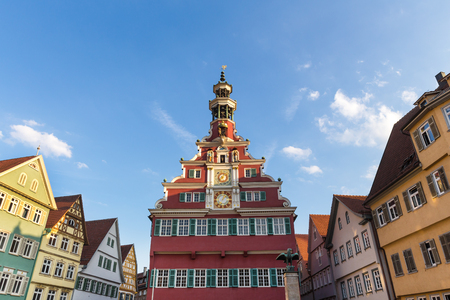 historic town esslingen germany on the neckar river