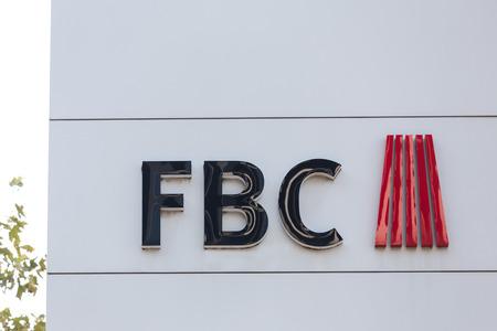 frankfurt, hesse/germany - 11 10 18: fbc building sign in frankfurt germany Editorial
