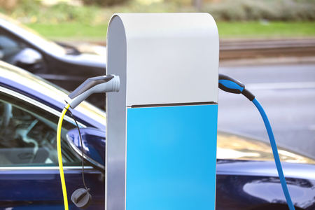 Electrical car charging column