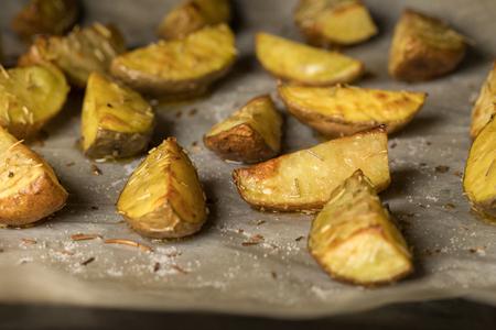 potato splits in the oven