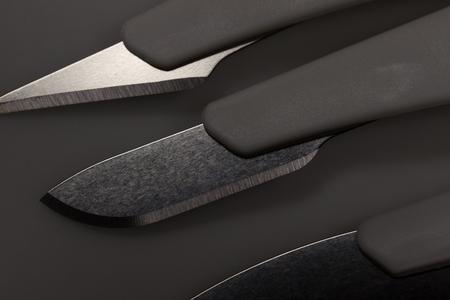 medical scalpels shadow background Standard-Bild