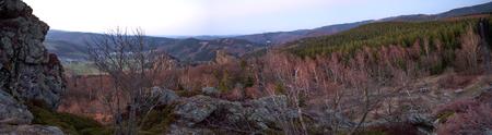 bruchhauser steine stones in germany panorama