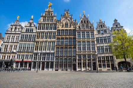 old town antwerp belgium Stockfoto