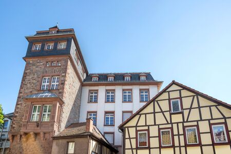 historic city bensheim in hesse germany Stockfoto