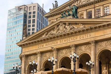 old opera frankfurt am main germany