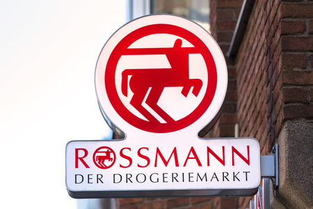 troisdorf, North Rhine-Westphaliagermany - 16 11 18: rossmann sign in troisdorf germany