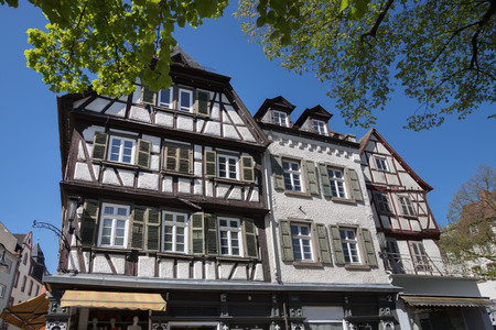 historic city bensheim in hesse germany Redactioneel