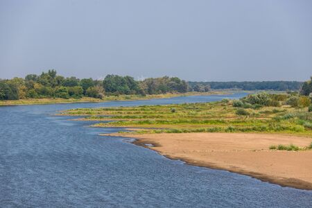 oder river in germany near the polish border