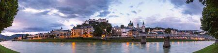 salzburg austria high definition panorama Banque d'images