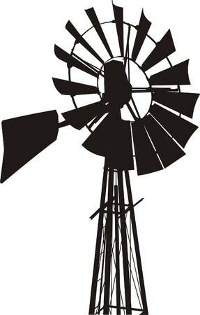 Windmill  Stock Vector - 3102161