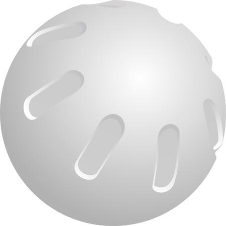 Plastic Whiffle ball