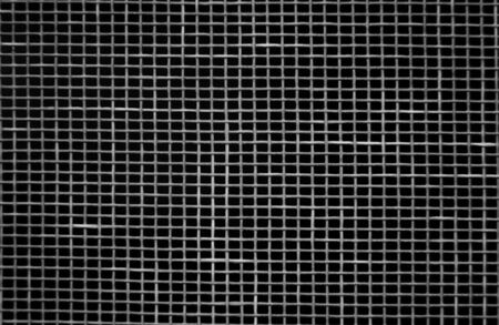 wire mesh: A close-up of a window screen