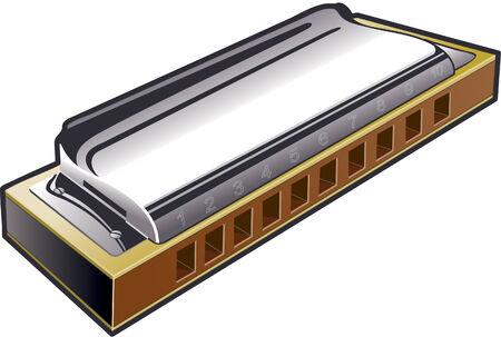 Ten hole harmonica