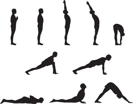 serpiente cobra: B�sicos de Yoga en Silhouette