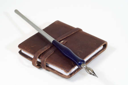 Pen and sketchbook Stock Photo - 5869478