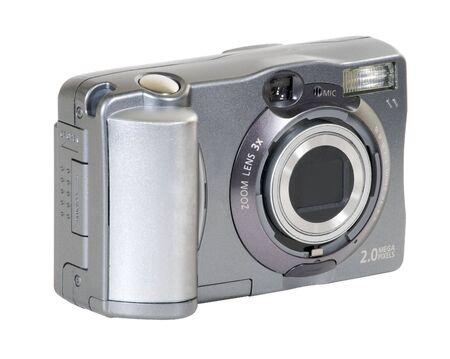megapixel: Small 2 mega-pixel digital camera.