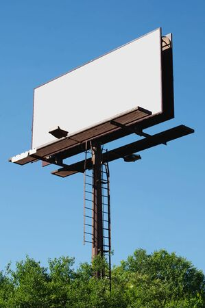 Blank billboard sign ready for your advertisment. Imagens - 7135543