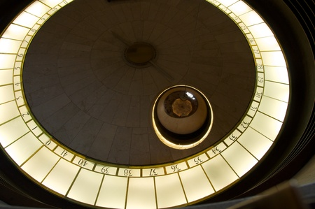 pendulum: Foucault Pendulum at Mount Griffith Observatory