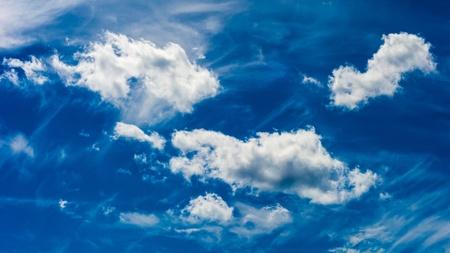 Dramatic Blue Sky Banco de Imagens