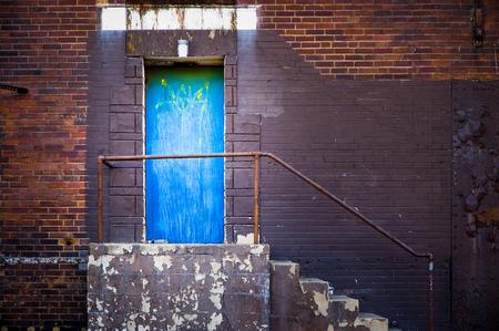 Blue Side Door