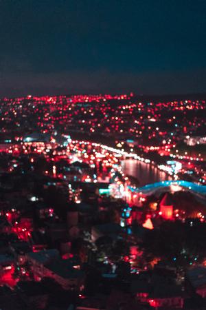 큰 오래 된 도시 밤, 트빌리시