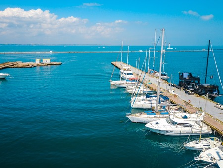Aerial view. Odessa Marine Trade Port