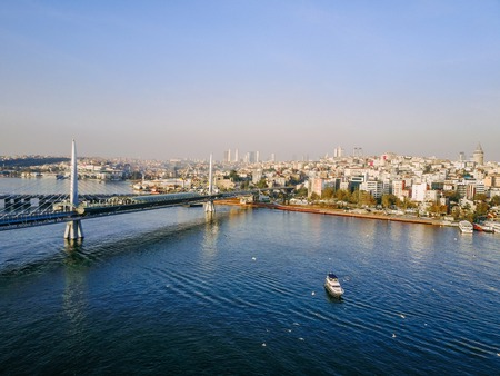 Istanbul aerial survey Stock Photo - 91589783