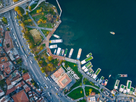 Istanbul aerial survey Stock Photo - 91628682