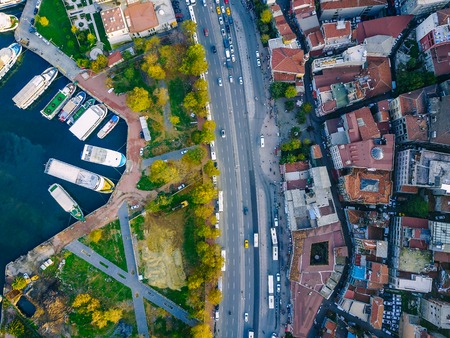 Istanbul aerial survey Stock Photo - 94309615