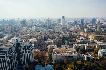 Kyiv capital city of Ukraine. Aerial view. Stock fotó
