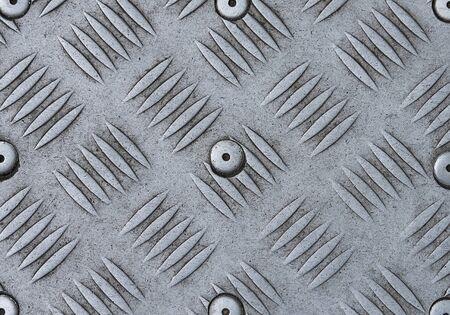 Seamless steel diamond plate texture.