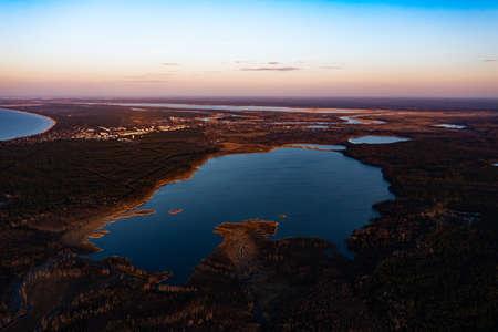 Beautiful Sunrise / Sunset over Calm Lake