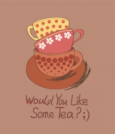 tea party: Would You Like Some tea  ;