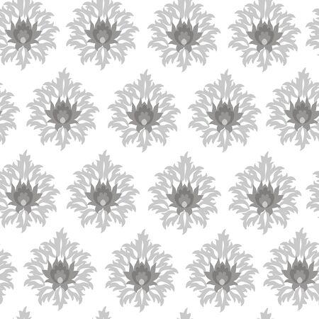 manic: Seamless monochrome original pattern