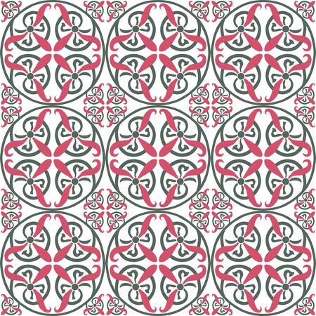 quadratic: Seamless sfondo geometrico Vettoriali
