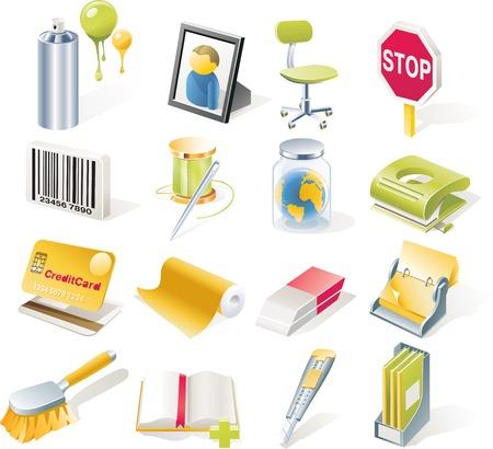 conserve: Vector objets ic�nes fix�s. Partie 8