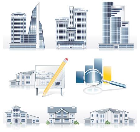 Vector icono de la arquitectura de aplicación establecidas