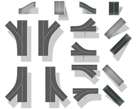 Create your map (DIY). Part 5. Bridges Stock Vector - 6505070