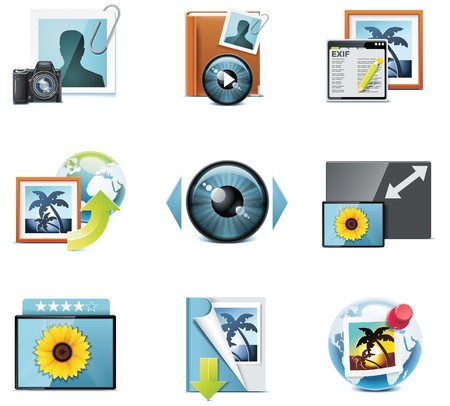 icons. Part 4 Stock Vector - 7213056