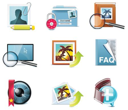 icons. Part 5 Stock Vector - 7213057