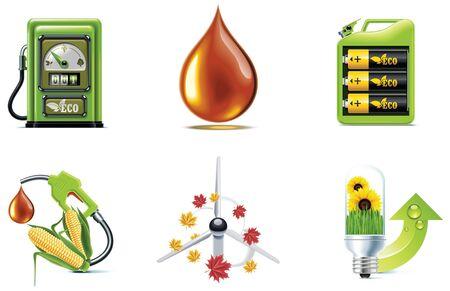 petrol can: conjunto de iconos de la ecolog�a. Parte 1