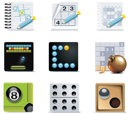 sudoku: video games icons. Part 1